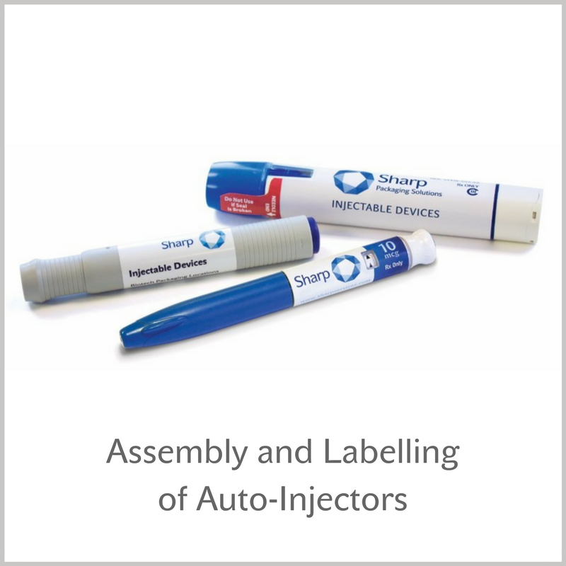 Assembley & Labelling of Auto-Injectors