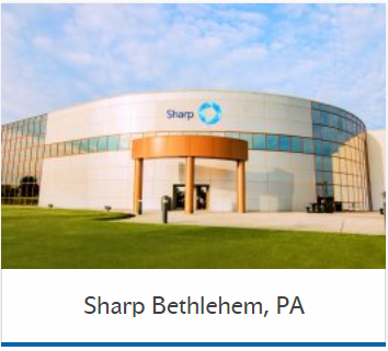 Sharp Clinical Services Bethlehem USA