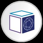 Sharp graphic design icon