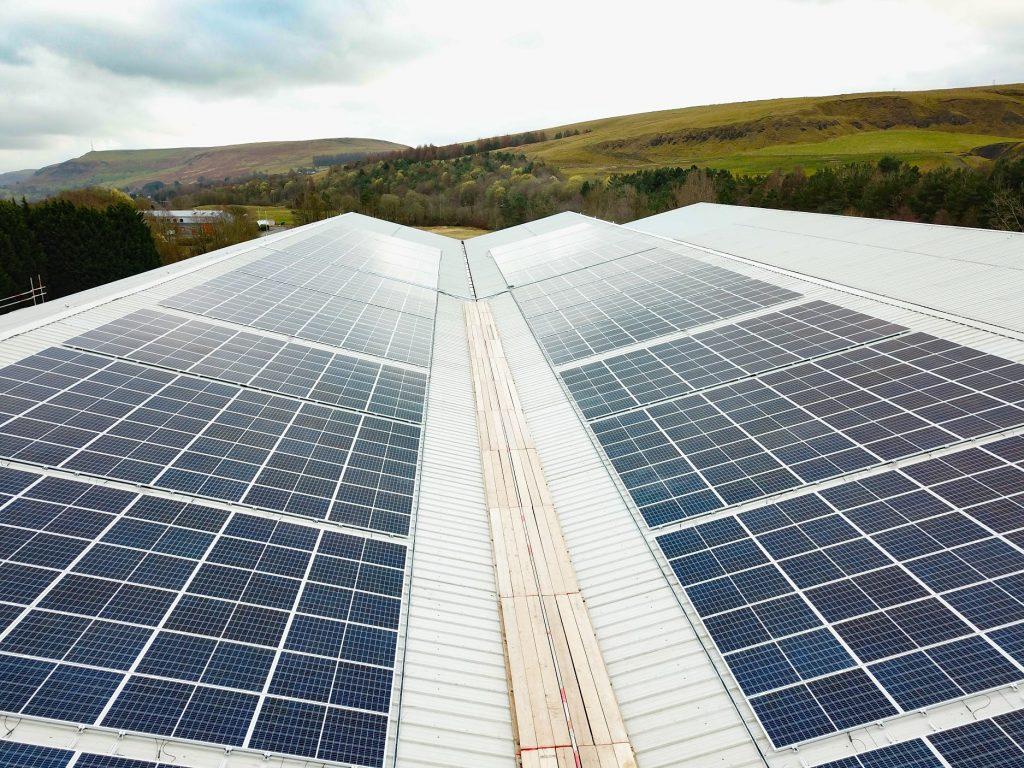 Sharp Rhymney solar panels