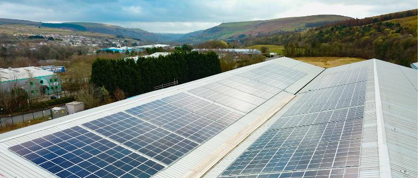 Rhymney solar panels